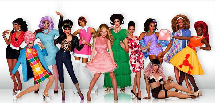 Elenco da oitava temporada de RuPaul's Drag Race (2009-) | Foto: Divulgação