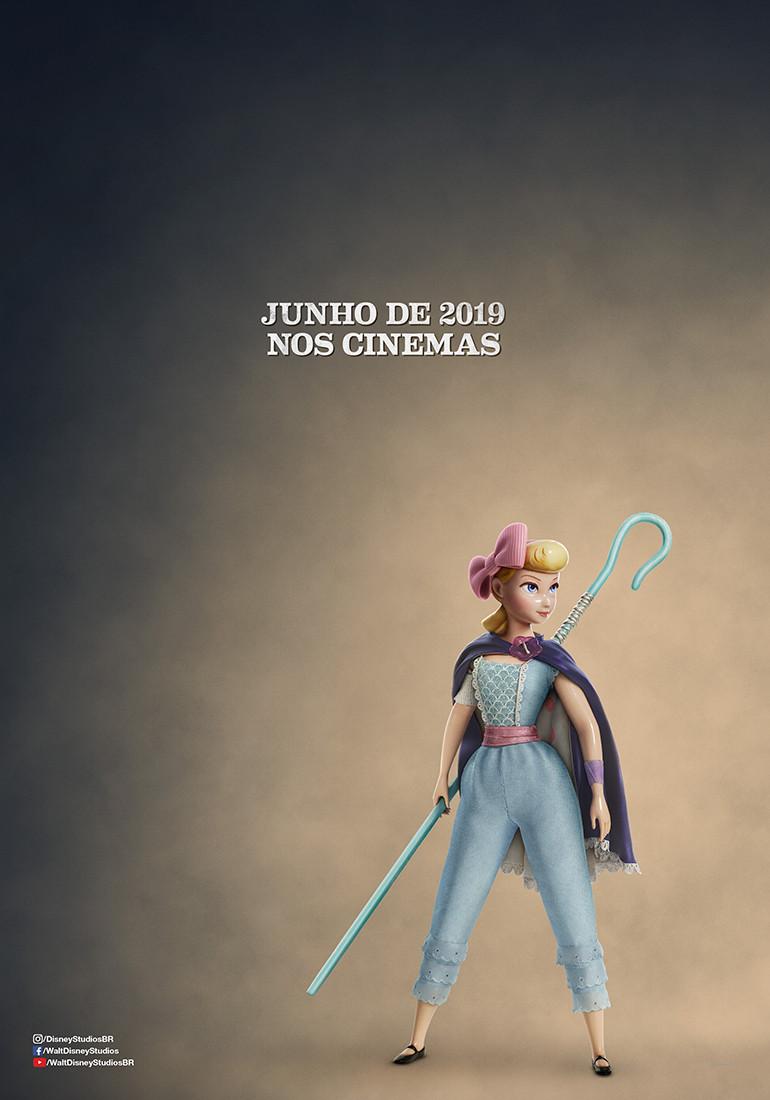 Teaser pôster da animação Toy Story 4 (2019) | Divulgação (Disney)