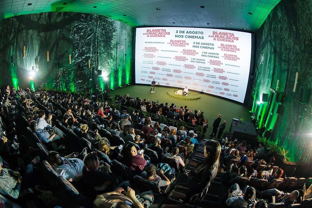 Coletiva de imprensa, em São Paulo, do filme Planeta dos Macacos: A Guerra (2017) | Foto: Divulgação (Créditos: Mauricio Santana)