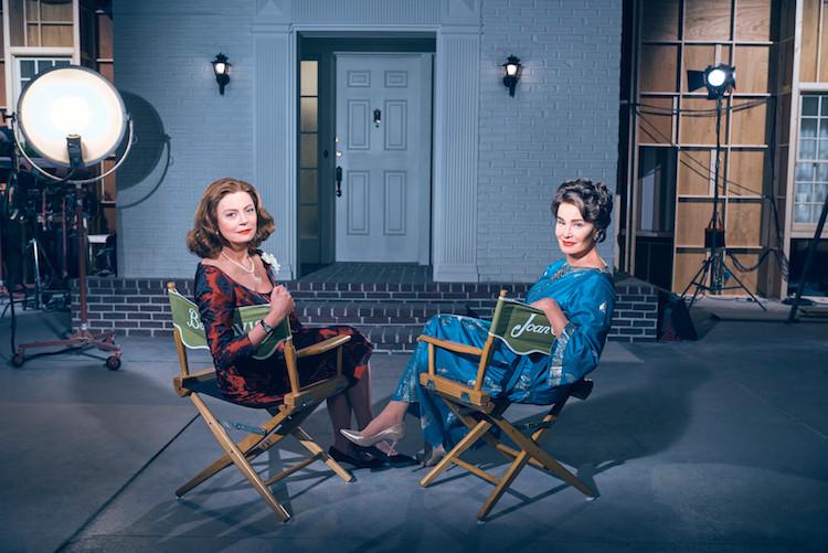 Susan Sarandon e Jessica Lange na imagem de divulgação da minissérie Feud: Bette and Joan (2017) | Foto: Divulgação