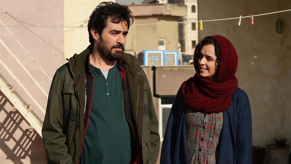 Cena do filme iraniano O Apartamento (2016), de Asghar Farhadi | Foto: Divulgação