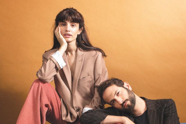O duo indie israelense Lola Marsh | Foto: Divulgação