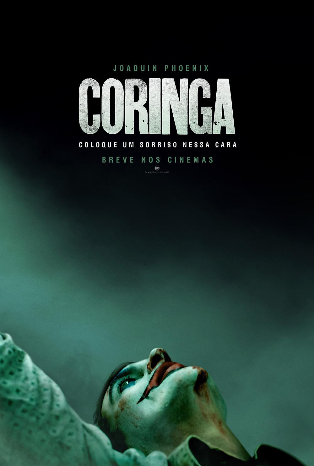 Teaser pôster do filme Coringa (2019) | Divulgação (Warner Bros. Brasil)