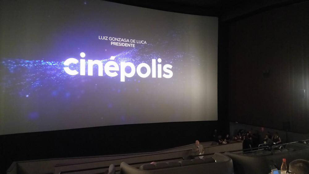 Luiz Gonzaga de Luca, presidente da Cinépolis Brasil, na apresentação do projeto Caixa de Pandora