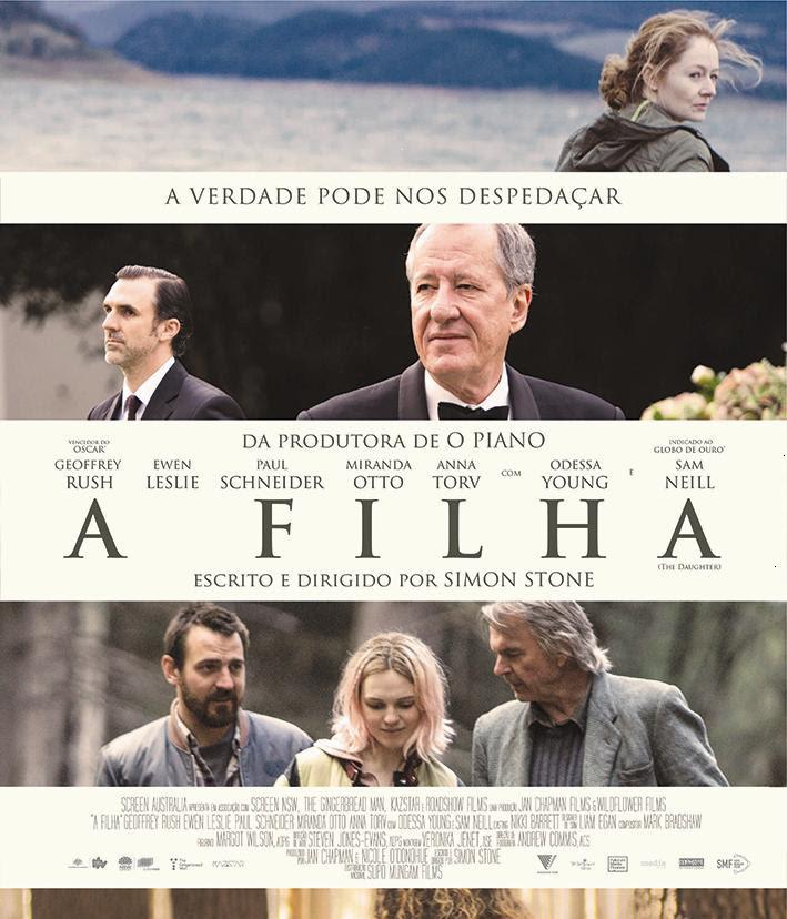 Cartaz do filme australiano A Filha (2016) | Divulgação (Supo Mungam Films)
