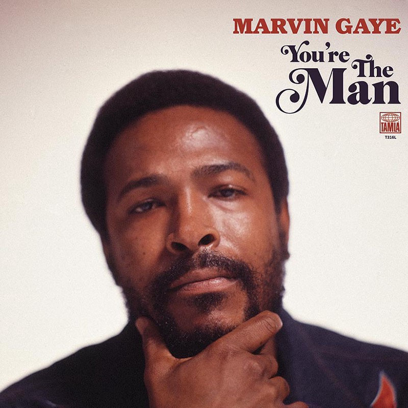 Capa do álbum You're The Man (2019), disco póstumo de Marvin Gaye