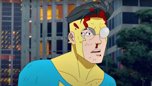 Cena da série animada Invencível (Invincible, 2021-), produção original da Amazon baseada na HQ homônima de Robert Kirkman | Foto: Divulgação