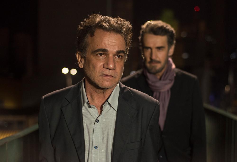 Eduardo Moreira e Renato Parara em cena do filme brasileiro O Lodo (2020), do cineasta mineiro Helvécio Ratton   Foto: Divulgação (Cineart Filmes / Créditos: Bianca Aun)
