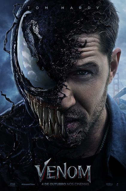 Pôster do filme Venom (2018) | Divulgação (Sony Pictures)