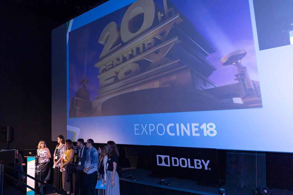 Apresentação da Fox na Expocine18 | Foto: Divulgação (Expocine)