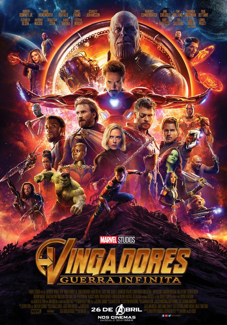 Pôster de Vingadores: Guerra Infinita (2018) | Divulgação (Marvel / Disney)