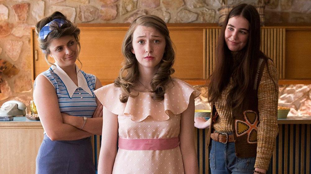 Bethany Whitmore, Amber McMahon e Imogen Archer em cena do filme australiano O Sonho de Greta (2016) | Foto: Divulgação