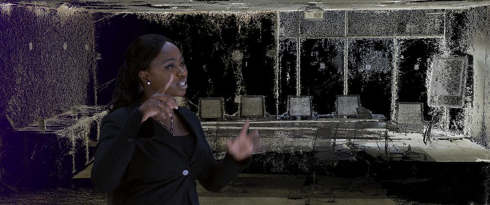 Cena do curta-metragem austro-senegalês Algo-Rhythm (2019), de Manu Luksch | Foto: Divulgação