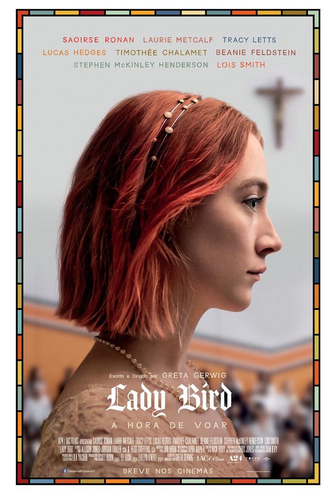 Cartaz do filme Lady Bird - A Hora de Voar (2017) | Divulgação