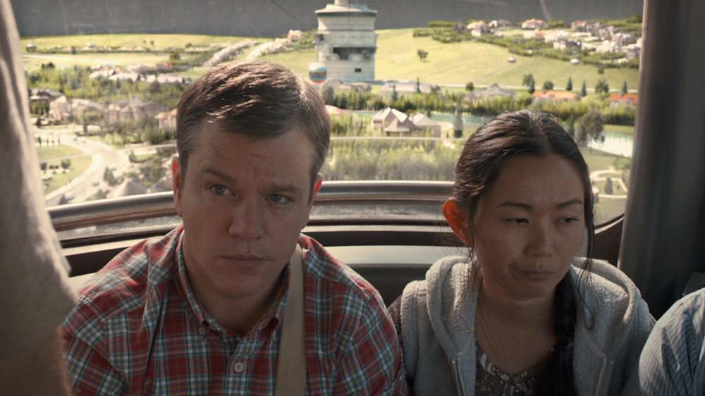 Matt Damon e Hong Chau em cena do filme Pequena Grande Vida (Downsizing, 2017) | Foto: Divulgação (Paramount Pictures)
