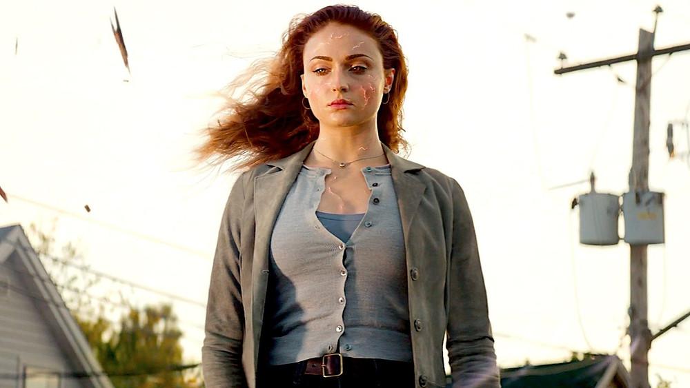 Sophie Turner em cena do filme X-Men: Fênix Negra (2019) | Foto: Divulgação