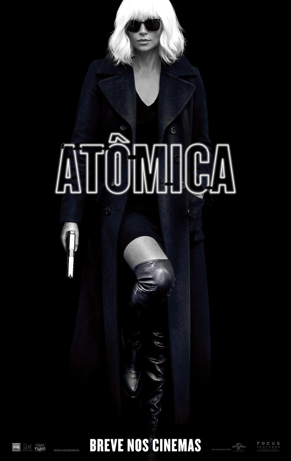 Cartaz do filme Atômica (2017) | Divulgação (Universal Pictures)