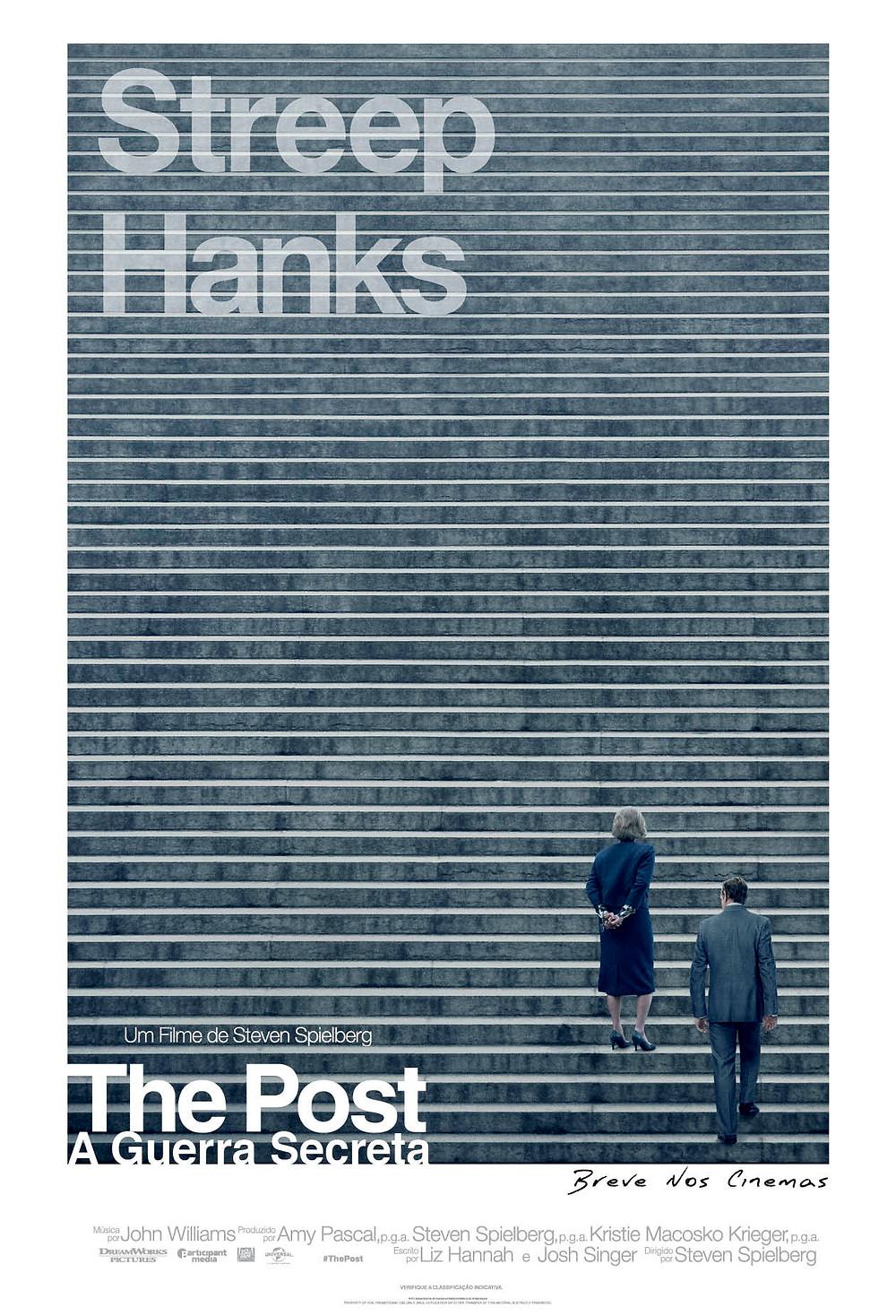 Cartaz do filme The Post – A Guerra Secreta (2018) | Divulgação (Universal Pictures)