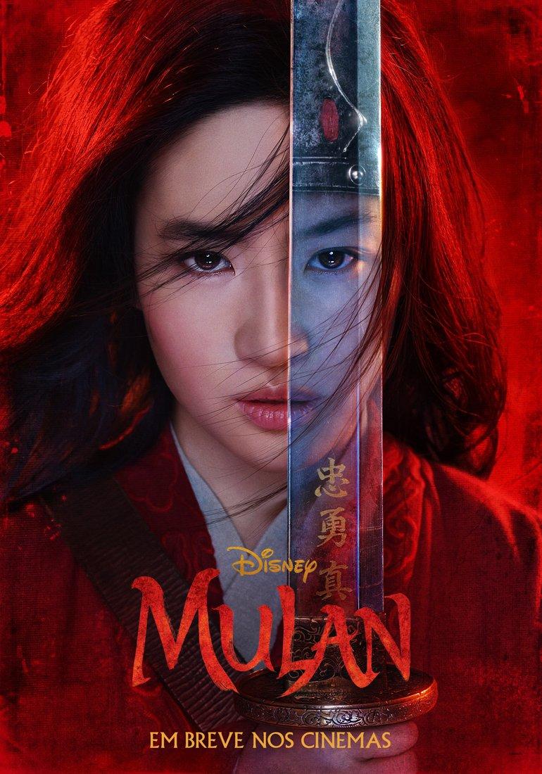Pôster do filme live action Mulan (2020) | Divulgação (Disney)