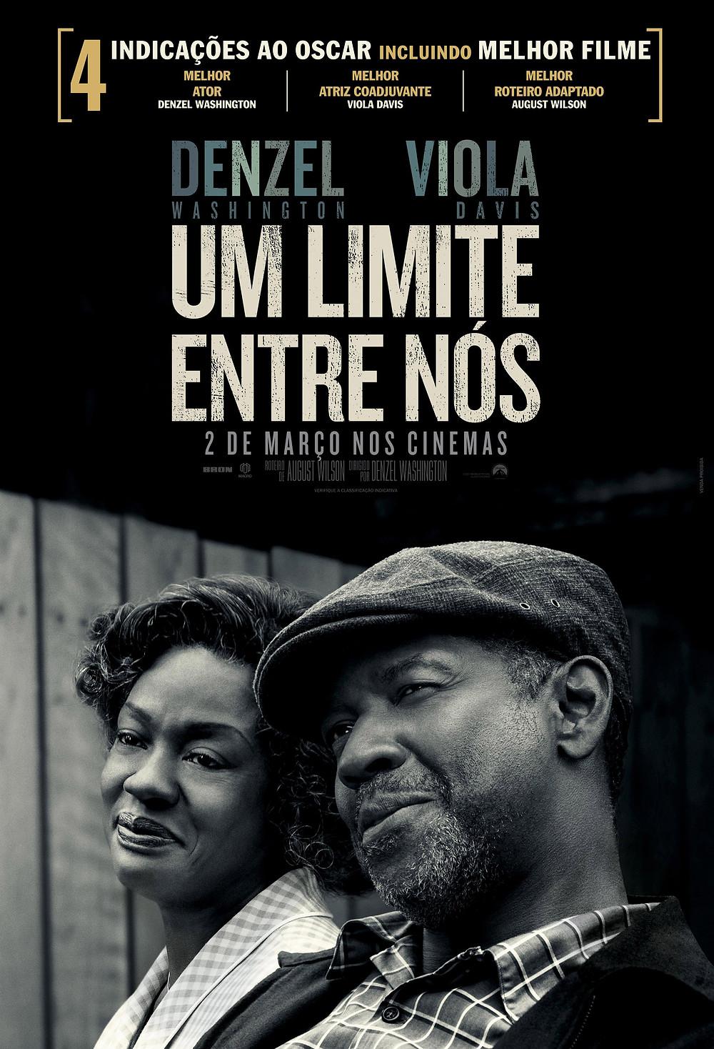 Cartaz do filme Um Limite Entre Nós (2016) | Divulgação (Paramount Pictures)