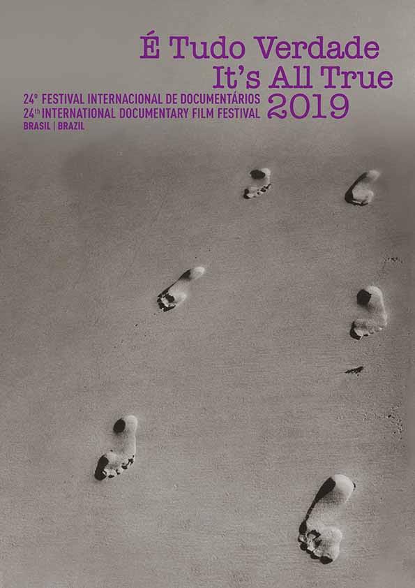 Cartaz da 23ª edição do festival É Tudo Verdade, de 2018
