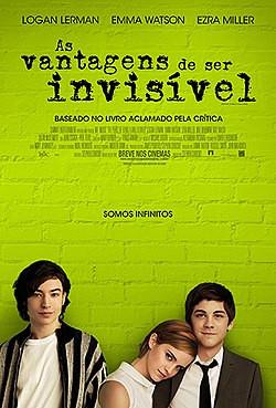 Cartaz do filme As Vantagens de Ser Invisível (2012)