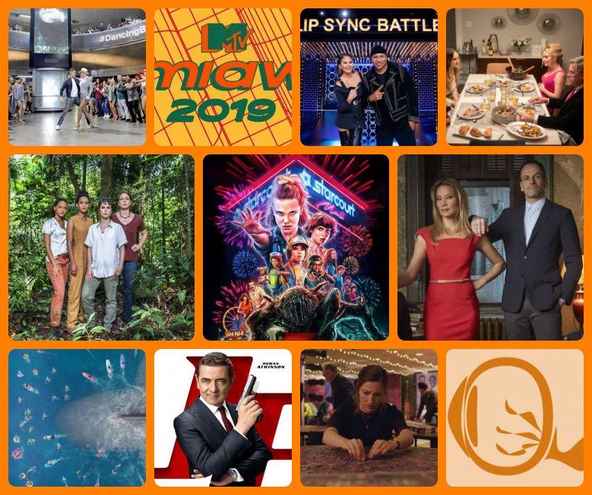 Resumão TV #66: Dancing Brasil 5 | MTV MIAW2019 | Batalha de Lip Sync S5 | Divorce S3 | Aruanas | Stranger Things S3 | Elementary S7 | Megatubarão | Johnny English 3.0 | O Quebra-Cabeças | Fotos: Divulgação