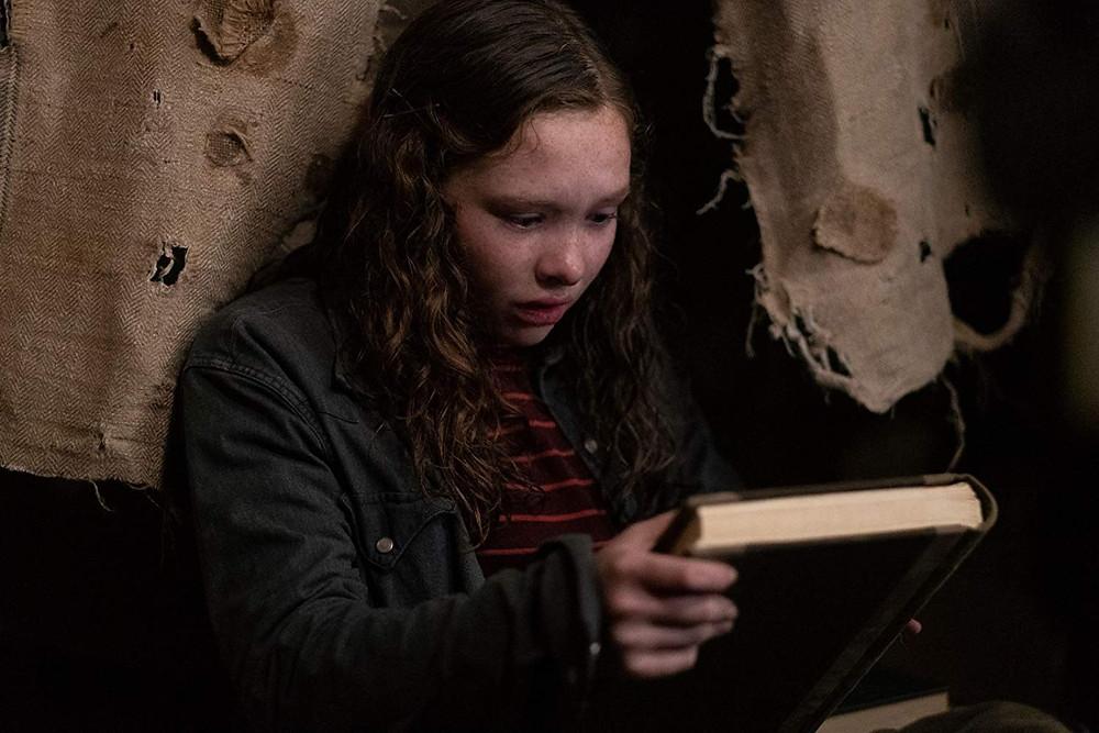 Zoe Margaret Colletti em cena do filme Histórias Assustadoras para Contar no Escuro (2019) | Foto: Divulgação