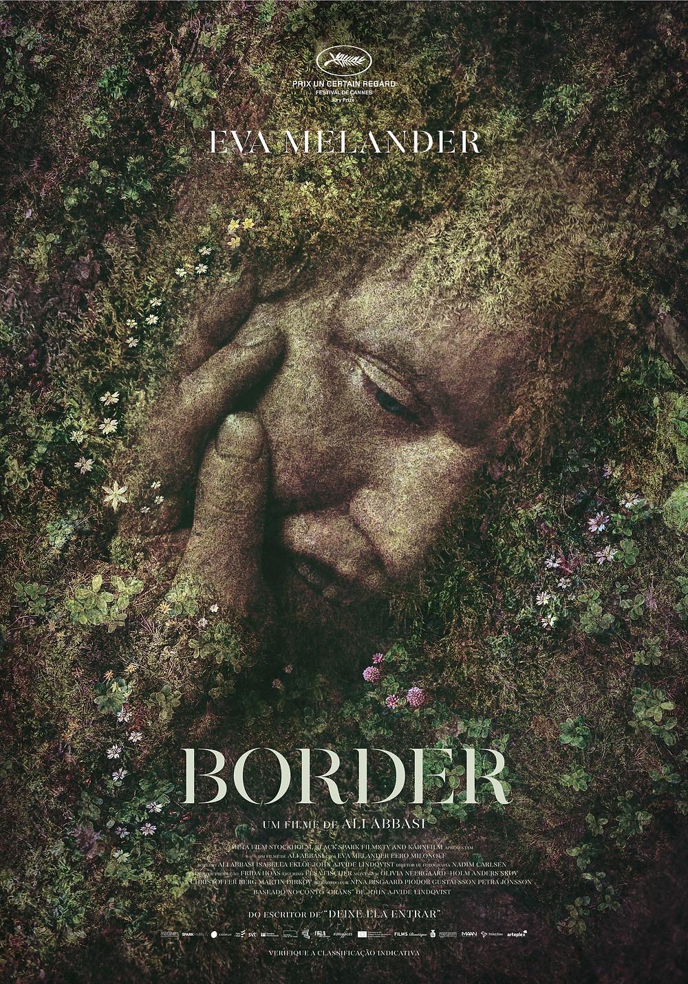 Cartaz do filme sueco Border / Gräns (2018) | Divulgação (Arteplex Filmes)