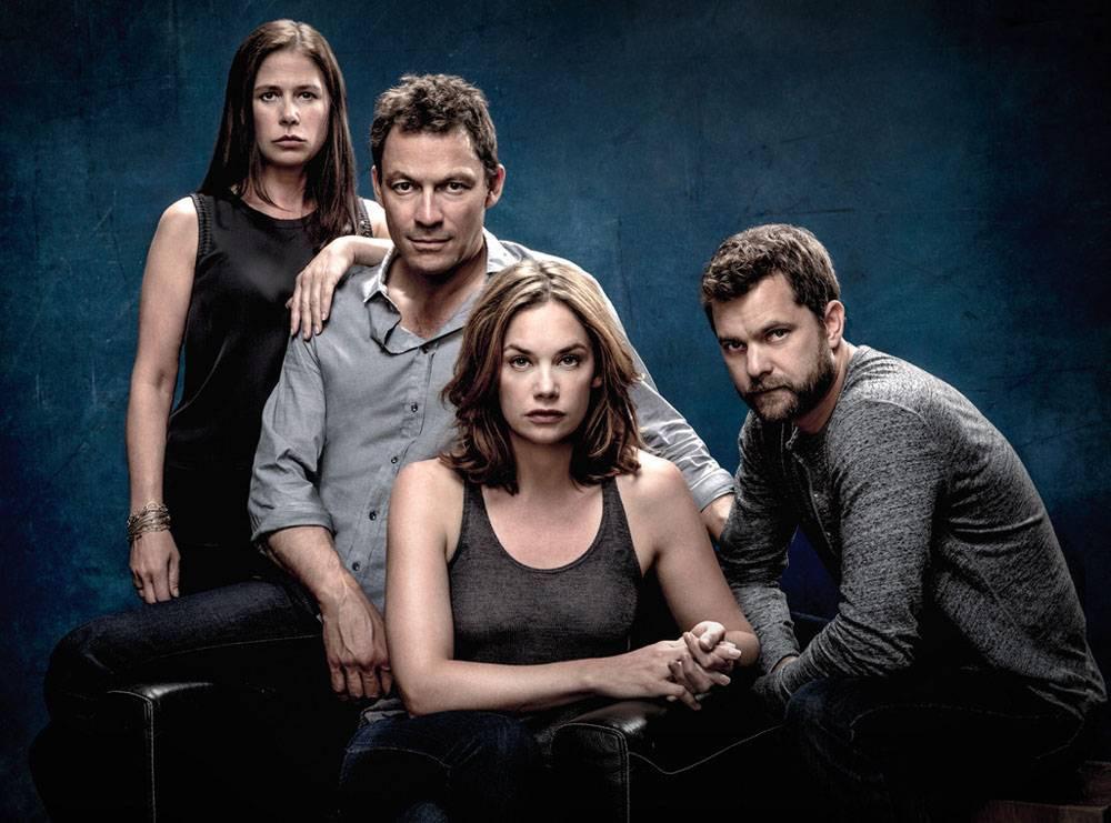 Imagem de divulgação da 1ª temporada da série norte-americana The Affair (2014-)