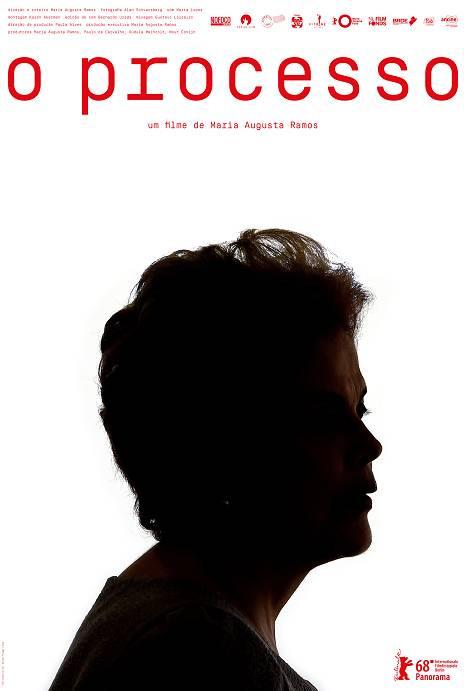 Cartaz do documentário nacional O Processo (2018) | Divulgação (Vitrine Filmes)