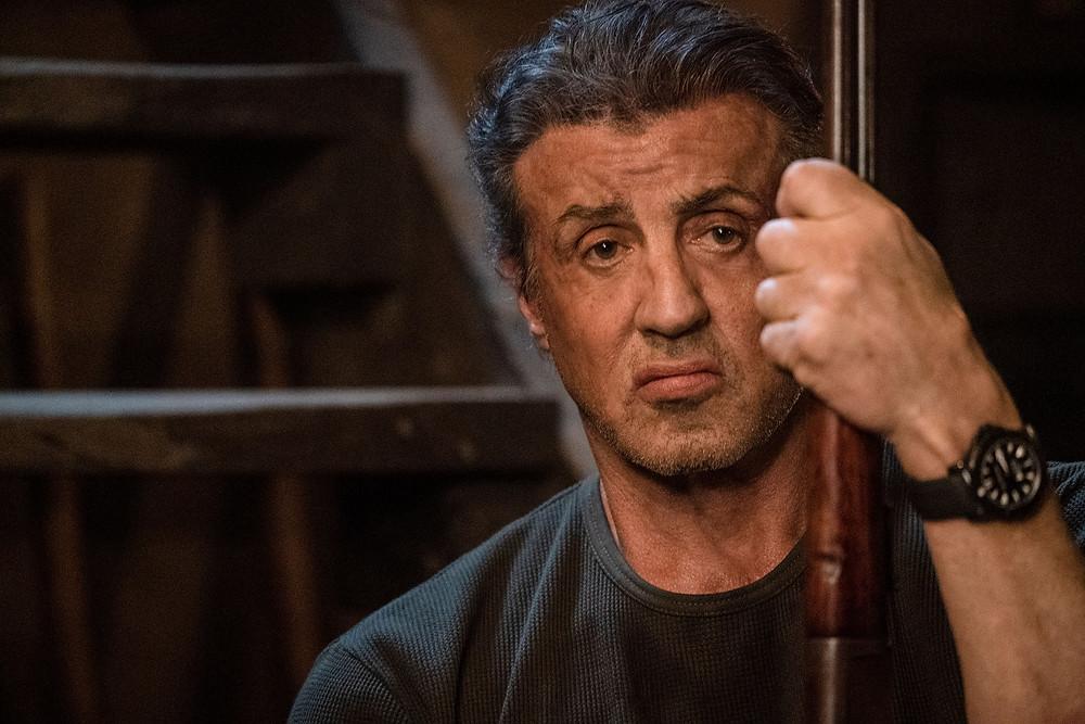 Sylvester Stallone em cena do filme Rambo: Até o Fim (2019), quinto da franquia | Foto: Divulgação (Imagem Filmes)