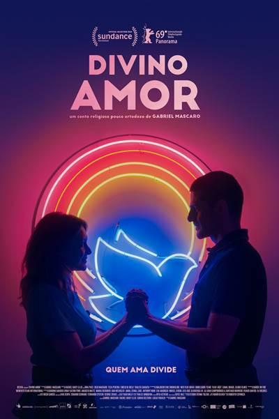 Cartaz do filme nacional Divino Amor (2019) | Divulgação (Vitrine Filmes)