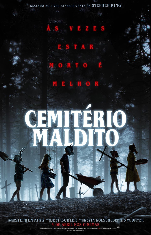 Pôster do filme de terror Cemitério Maldito (2019) | Divulgação