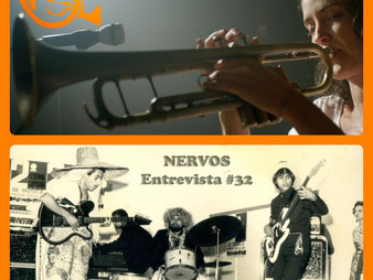 NERVOS Entrevista #32 | AINDA TEMOS A IMENSIDÃO DA NOITE + DIANTE DOS MEUS OLHOS