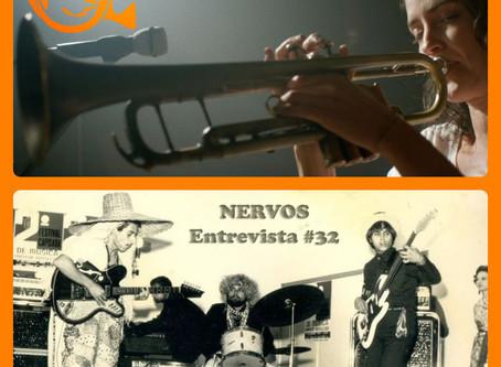 NERVOS Entrevista #32   AINDA TEMOS A IMENSIDÃO DA NOITE + DIANTE DOS MEUS OLHOS