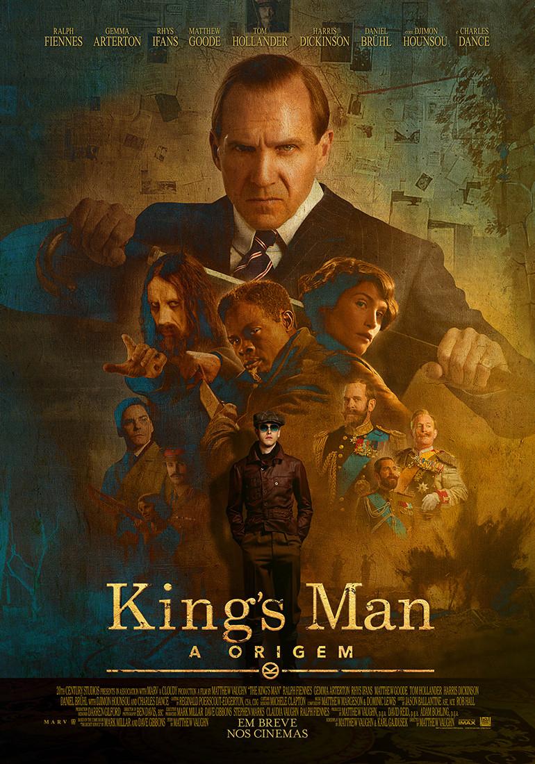 Pôster do filme King's Man: A Origem (2020)   Divulgação (Fox / Disney)
