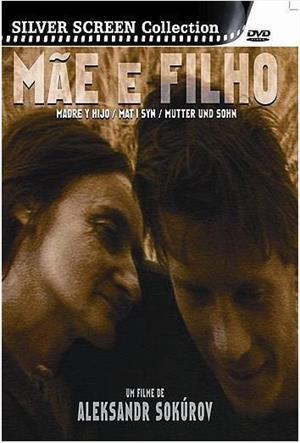 Capa do DVD do filme Mãe e Filho (1997), do cineasta russo Alexandr Sokurov