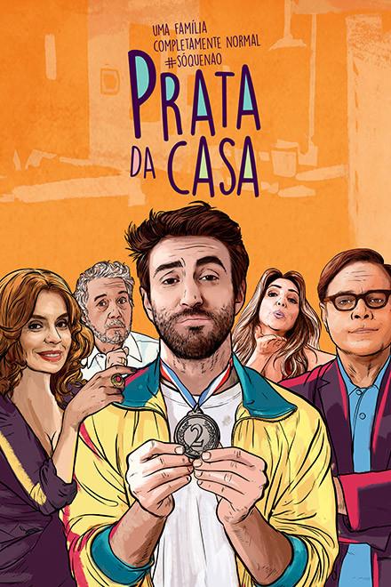 Pôster da série nacional Prata da Casa (2017) | Divulgação (FOX)