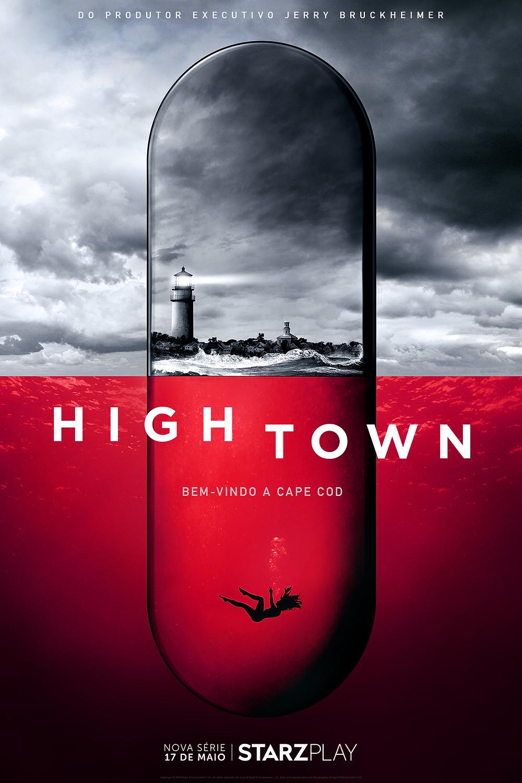 Cartaz da série policial Hightown (2020) | Divulgação (Starzplay)