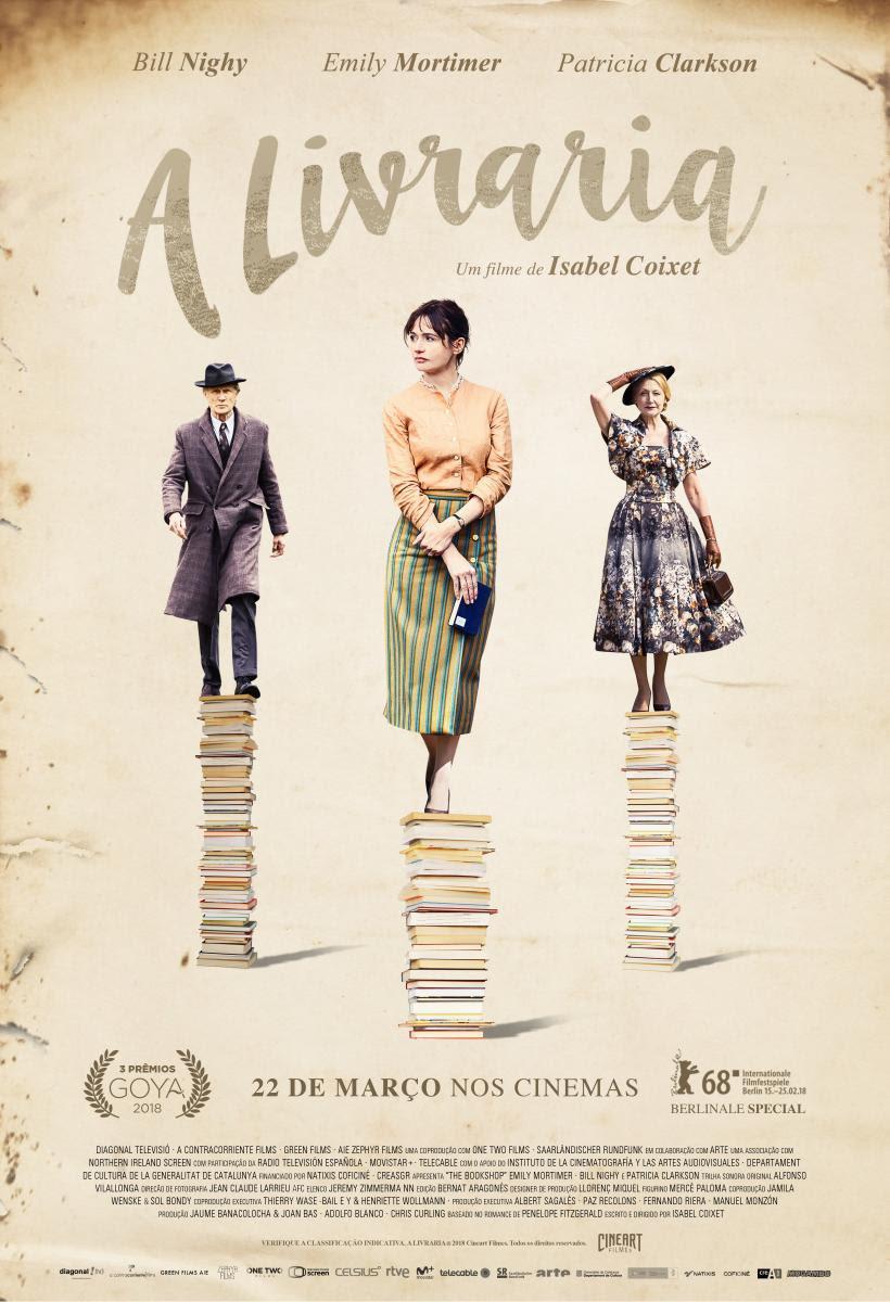 Cartaz de A Livraria (2017) | Divulgação (Cineart)