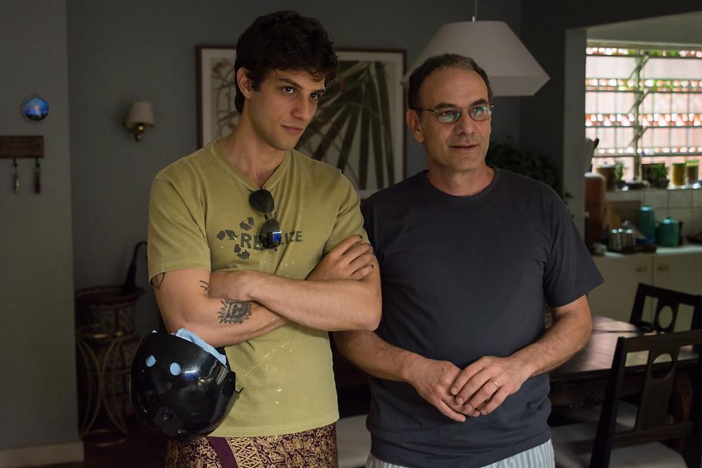 Chay Suede e Marco Ricca em cena de Rasga Coração | Foto: Divulgação (Casa de Cinema de Porto Alegre)