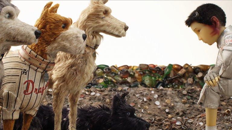 Cena da animação Ilha dos Cachorros (Isle of Dogs, 2018), de Wes Anderson | Foto: Divulgação