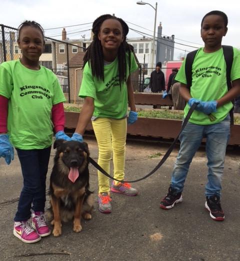 Kingsman Academy service learning trip