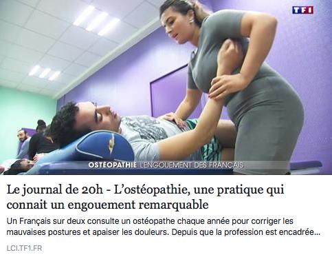 L'OSTÉOPATHIE, BIEN PLUS QU'UNE MODE