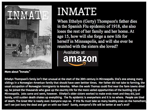 Inmate, a book by Christine Halvorson
