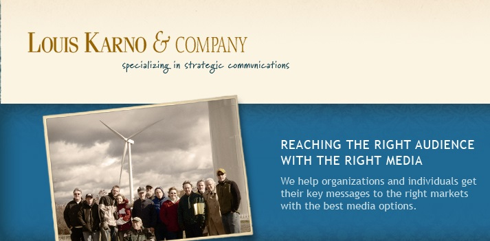 Louis Karno & Company Commnications