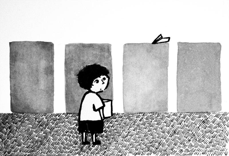 ミニ絵本「DOOR」