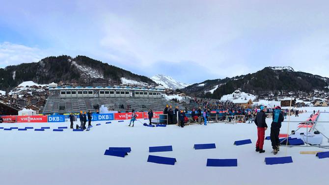 ZDF - Biathlon Worldcup, Le Grand Bornand