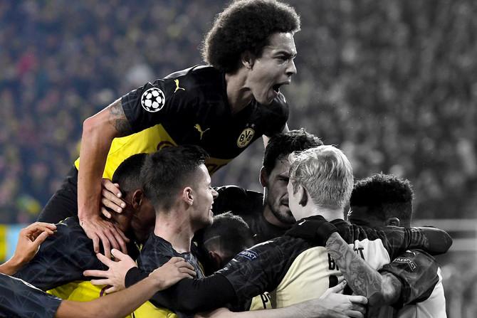 Fußball Championsleague Dortmund - Mailand